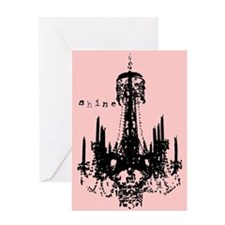 INSPIRATIONAL CHANDELIER Greeting Card