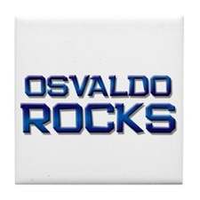 osvaldo rocks Tile Coaster