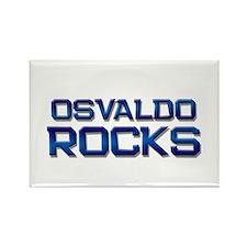 osvaldo rocks Rectangle Magnet