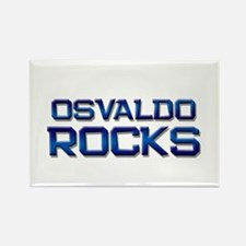 osvaldo rocks Rectangle Magnet