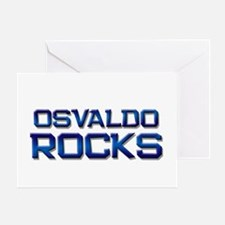 osvaldo rocks Greeting Card