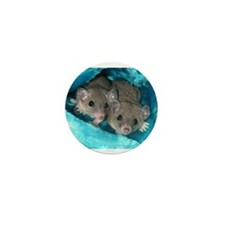 Short Tailed Opossum Mini Button (10 pack)