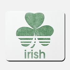 Vintage Irish Logo Mousepad