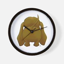 Big Butt Dachshund Wall Clock