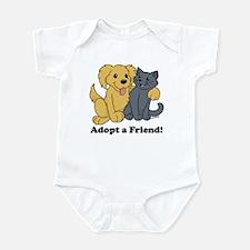Adopt a Friend! Infant Bodysuit