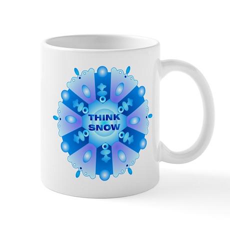 Think Snow Flake Mug