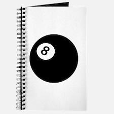 black billiard ball Journal