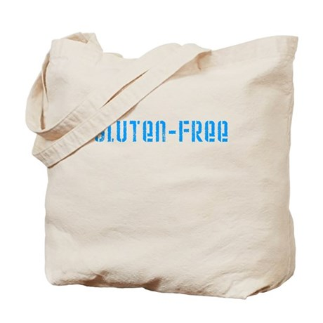 gluten-free (blue) Tote Bag