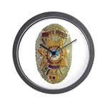 CRIT Police Wall Clock