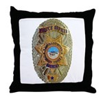 CRIT Police Throw Pillow