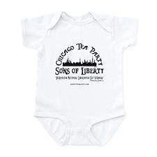 Chicago Tea Party Infant Bodysuit