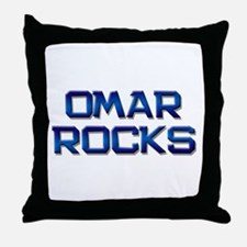 omar rocks Throw Pillow