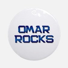 omar rocks Ornament (Round)