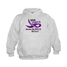 I Wear Purple (Uncle) 33 PC Hoodie