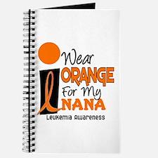 I Wear Orange For My Nana 9 Leukemia Journal