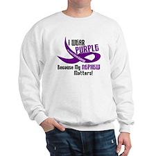 I Wear Purple (Nephew) 33 PC Sweatshirt