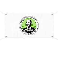 Obama St. Patricks Day Banner