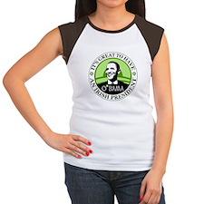 Obama St. Patricks Day Women's Cap Sleeve T-Shirt