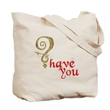 Have you? Tote Bag (red)