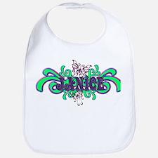 Janice's Butterfly Name Bib