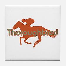 Thoroughbred Horse Tile Coaster