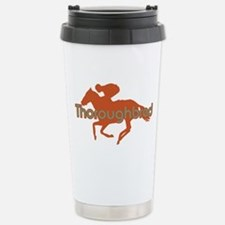 Thoroughbred Horse Stainless Steel Travel Mug