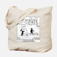 Springing Forward at Stonehenge Tote Bag