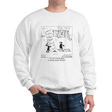 Springing Forward at Stonehenge Sweatshirt