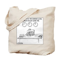 Never Change to DST Tote Bag