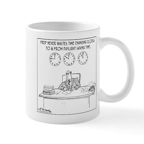 Never Change to DST Mug