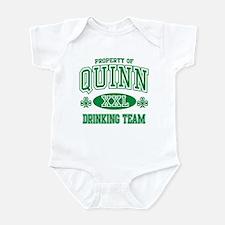Quinn Irish Drinking Team Infant Bodysuit