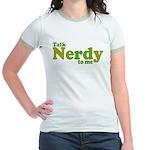 Talk Nerdy to me Jr. Ringer T-Shirt