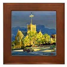 St. Mary's Episcopal Church Framed Tile