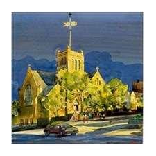 St. Mary's Episcopal Church Tile Coaster