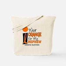 I Wear Orange For My Nephew 9 Leukemia Tote Bag