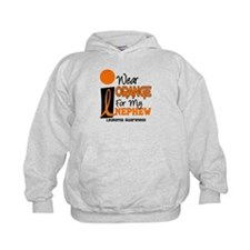 I Wear Orange For My Nephew 9 Leukemia Hoodie
