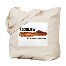 Cute Baconation Tote Bag