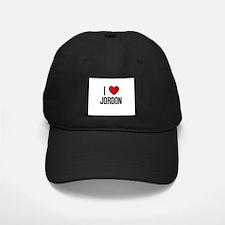 I LOVE JORDON Baseball Hat