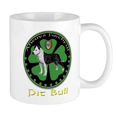 Always faithful Pit Bull Mug