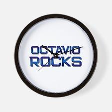 octavio rocks Wall Clock