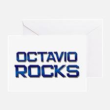 octavio rocks Greeting Card