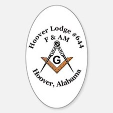 Hoover Lodge #644 Oval Decal
