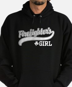 Irish Firefighter's Girl Hoodie