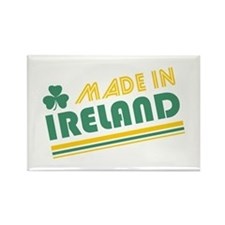 Made In Ireland Rectangle Magnet