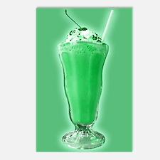 Sweet Green Milkshake Postcards (Package of 8)