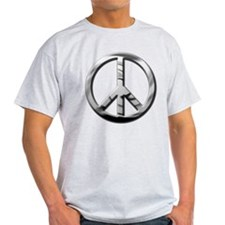 Chrome Peace - T-Shirt