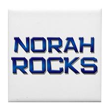 norah rocks Tile Coaster