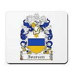 Ivarsen Coat of Arms Mousepad