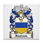 Ivarsen Coat of Arms Tile Coaster