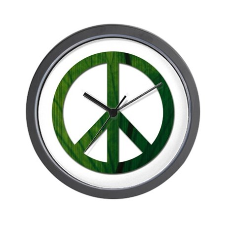 Leaf Peace - Wall Clock